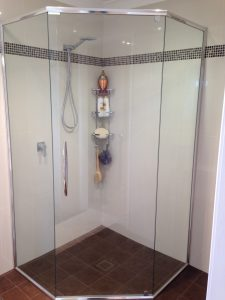Semi frameless Shower Screen Sydney